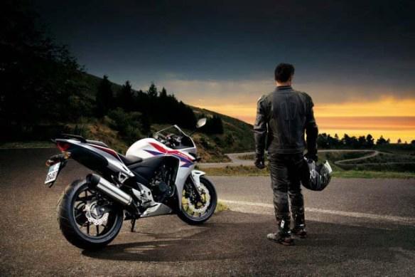 2013 Honda CBR500, 2013 Honda CB500R, and 2013 Honda CB500X motorcycles.