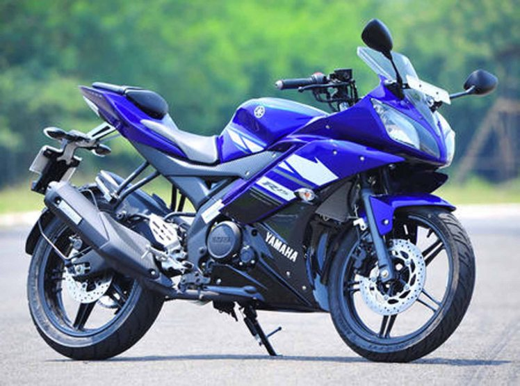 the 150cc R15 exported to Japan