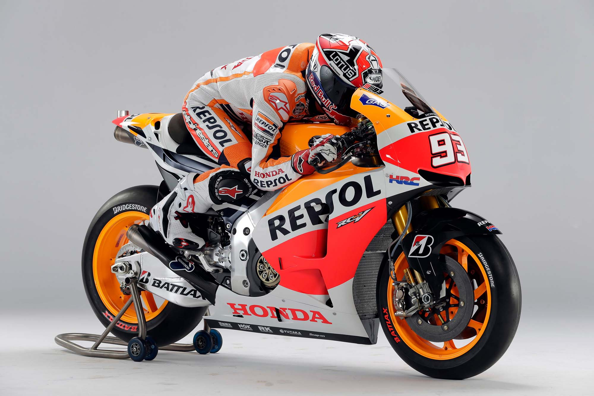Honda Revealed 2013 MotoGP Machine
