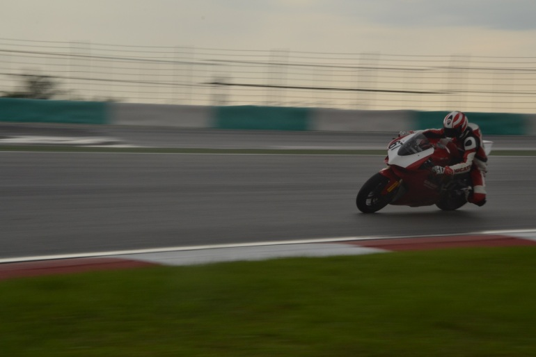 Ducati Panigale 1199 in action