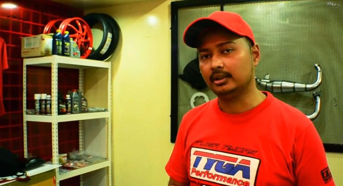 Mr.Edy Kamal of TYGA Performance KL