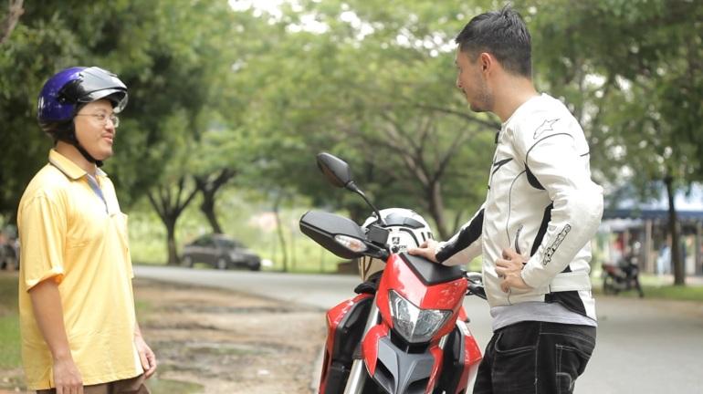 "A screenshot from ""Ducati Hypermotard Film"" Release Date:TBA"