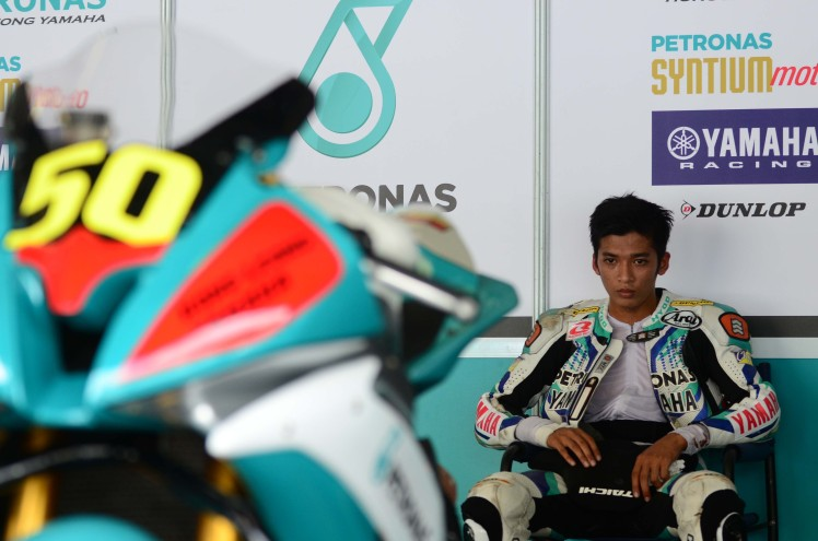 Afif Amran during the ARRC opening round in Sepang last May