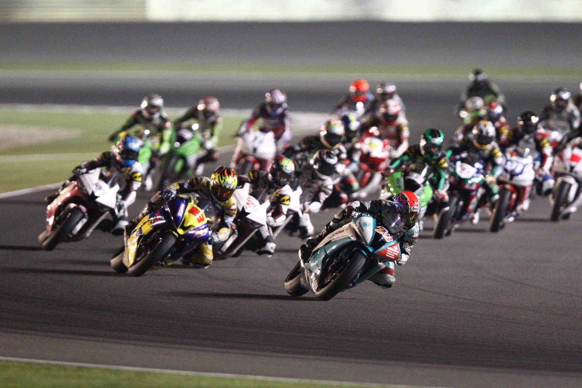SuperSports 600cc race in Qatar