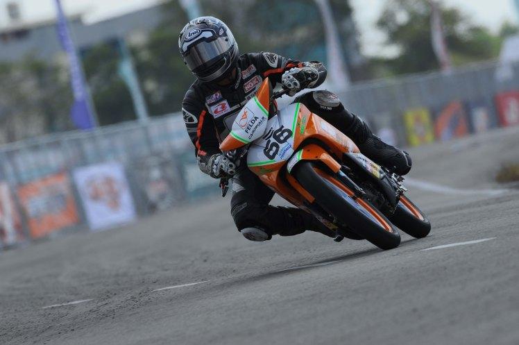 Saiful Izman in action at Temerloh last weekend