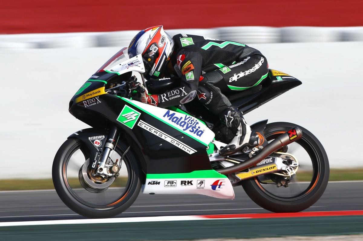 Khairuddin, Moto3, Catalunya MotoGP 2015