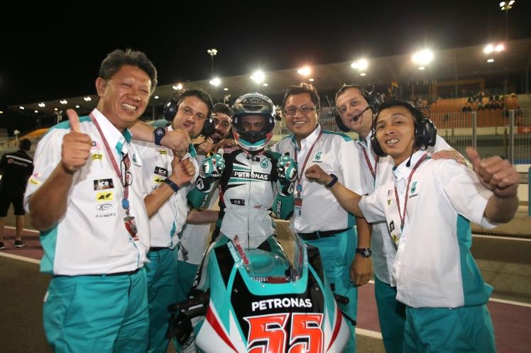PETRONAS Raceline Malaysia in Qatar