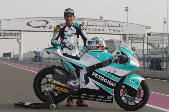Hafizh Syahrin is currently placed fourth in the Moto2 World Championship Standings