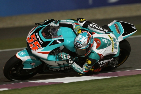 Hafizh Syahrin powered to sixth in the Argentina Grand Prix