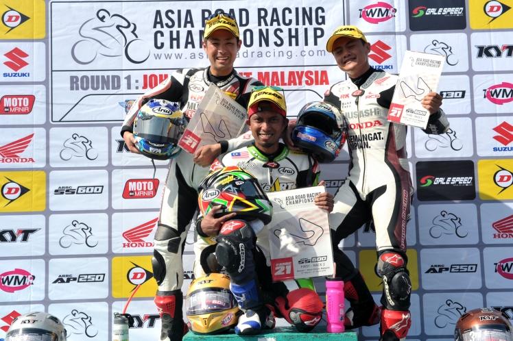 SuperSports 600cc podium 2