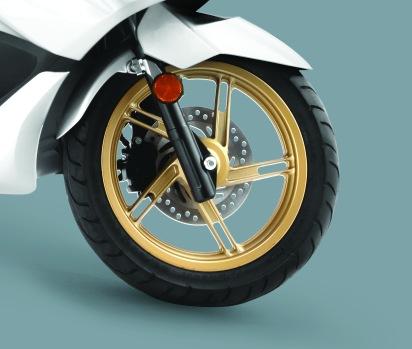 Gold Cast Wheel