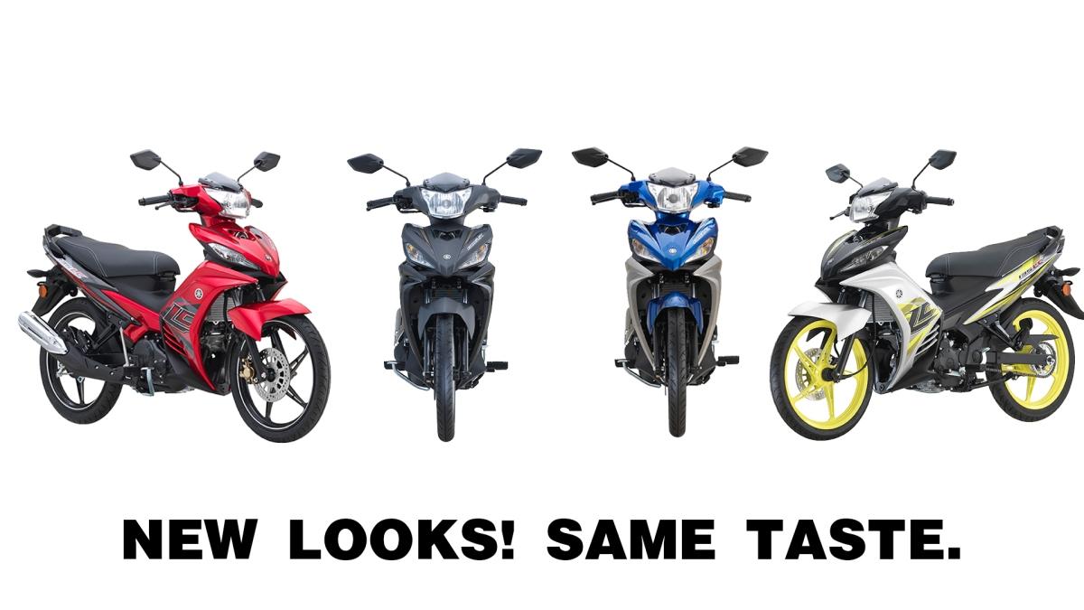 Yamaha LC135 V1,V2,V3,V4 ~ Verison 1